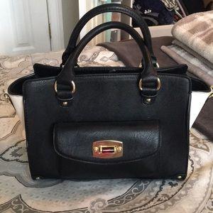 Handbags - Color block handbag